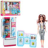Кукла повар29 см с аксессуарами, кухня, JX600-64, коробка48,5-33-7 см