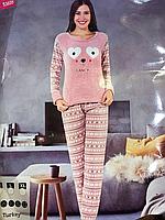 Тёплые домашние костюмы для женщин