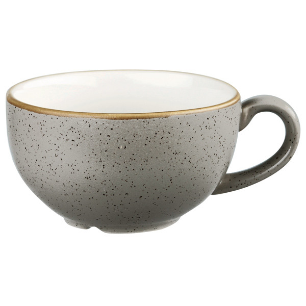 Чашка 220 мл. фарфоровая, серая Stonecast Peppercorn Grey, Churchill