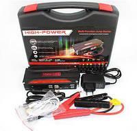 Портативный аккумулятор Power Bank (car jump starter 10000 mah TM-18, 4 usb с насосом)