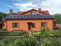 Гибридная солнечная станция 7.2квт. Резервное электроснабжение . Продажа энергии в сеть по зеленому тарифу. Киевская обл.