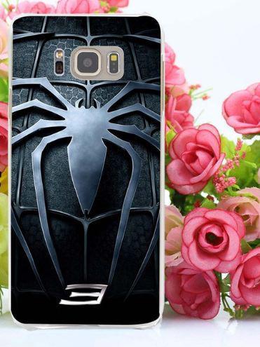 Бампер силіконовий чохол для Samsung Galaxy S8 Plus G955 з картинкою Павук