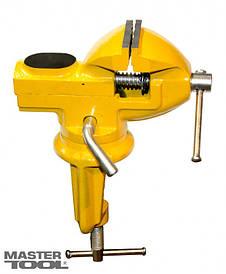 Мини-тиски слесарные поворотные 50 мм MasterTools