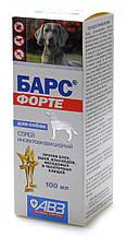 Спрей Барс ФОРТЕ для собак від бліх і кліщів (фіпроніл) 100 мл