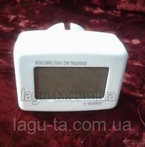 Вольтметр для розетки DM55-1, фото 2