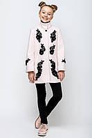 Кашемировое пальто для девочки vpd-4.