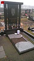 Памятник гранитный с крышой