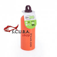 Алюминиевая бутылка для воды Giostyle 0.6 л Orange