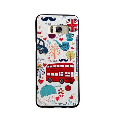 Чехол накладка с картинкой для Samsung Galaxy S8 Plus G955 Лондон