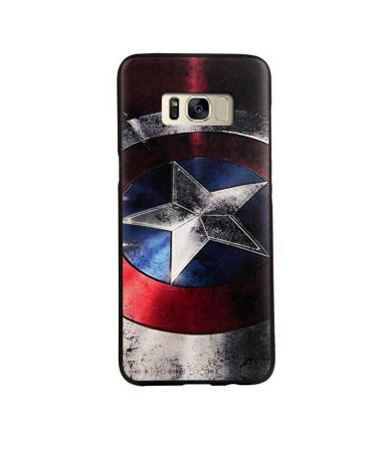 Чехол накладка с картинкой для Samsung Galaxy S8 Plus G955 Капитан Америка