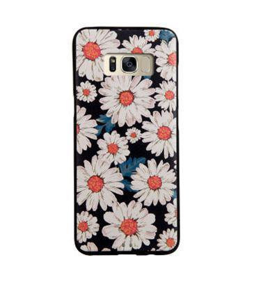 Чехол накладка с картинкой для Samsung Galaxy S8 Plus G955 Ромашки