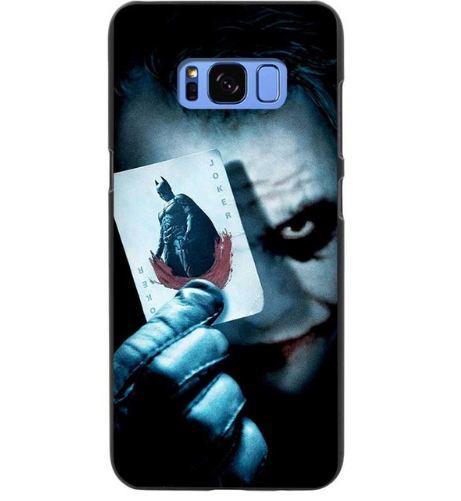Чехол накладка с картинкой для Samsung Galaxy S8 Plus G955 Джокер с картой