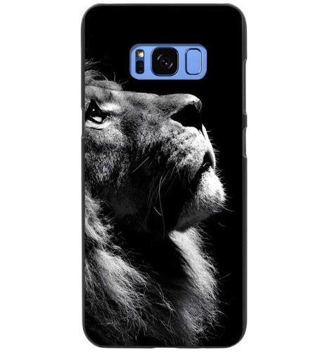 Чехол накладка с картинкой для Samsung Galaxy S8 Plus G955 Лев