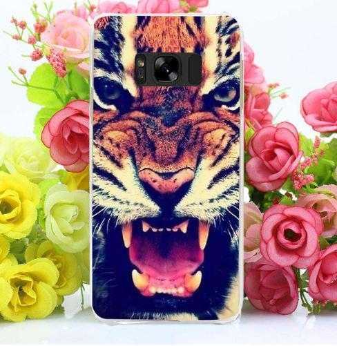 Чехол накладка с картинкой для Samsung Galaxy S8 Plus G955 Тигр
