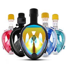 Полнолицевая маска с просветленным стеклом, фото 3