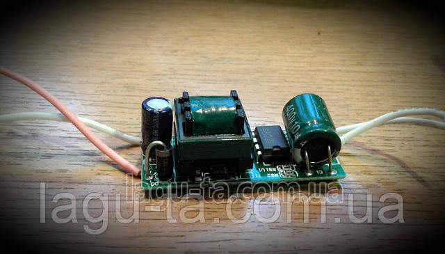 Драйвер для светодиода 8-12*1вт