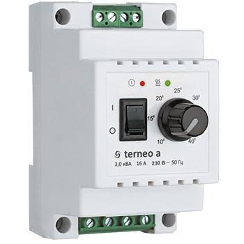 """Терморегулятор с датчиком """"Terneo a""""  для теплого пола"""