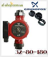 Насос циркуляционный Grundfos UPS 32-80 (база 180 мм), фото 1