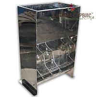 Кормушка для поросят (от 10 - 50 кг) для доращивания 4 секции (нержавейка)