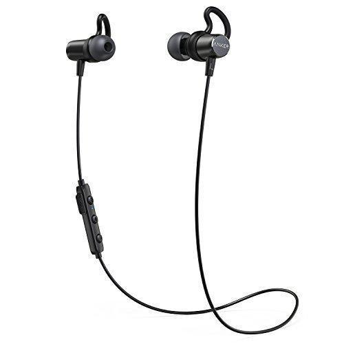 Наушники спортивные ANKER SoundBuds Surge Bluetooth, водонепроницаемые, магнитные (A3236011)