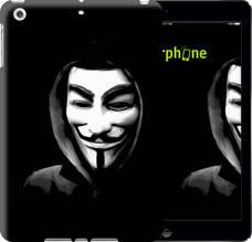 "Чехол на iPad 5 (Air) Анонимус ""832c-26-851"""