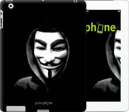 """Чехол на iPad 2/3/4 Анонимус """"832c-25-851"""""""