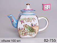 Чайник декоративный Lefard Лягушка 100 мл, 82-755