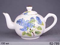 Чайник декоративный Lefard Сирень 150 мл, 82-789