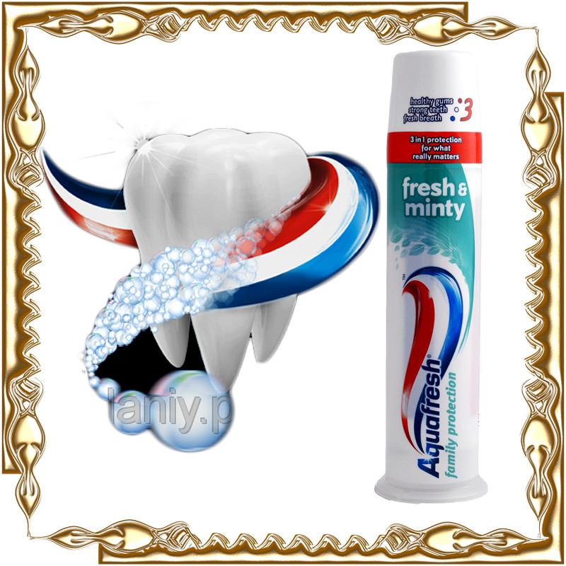 Зубная паста Aquafresh в тубусе 100 ml