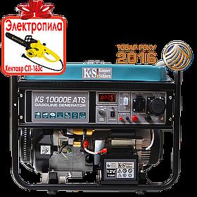 Генератор бензиновый Konner&Sohnen KS 10000E ATS (8кВт)