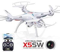 Квадрокоптер р/у Syma X5SW с камерой WiFi (белый), фото 1