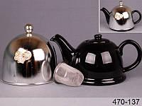 Чайник заварочный с колпаком и фильтром Lefard 800 мл, 470-137