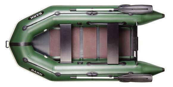 Моторная надувная лодка с реечным настилом Bark BТ-270 двухместная. Отличное качество. Доступно. Код: КГ3061