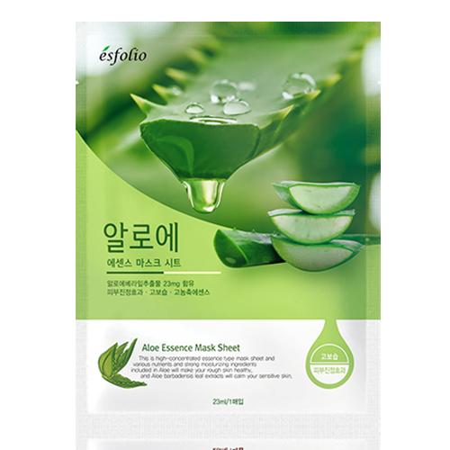 Увлажняющая маска Алоэ Esfolio Aloe Essence Mask Sheet - 1шт