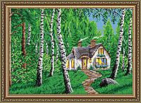 """Алмазна вишивка """"Будиночок у лісі"""""""