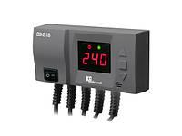 CS-21B Автоматика KG Elektronik для вентилятора обдува твердотопливного таплогенератора