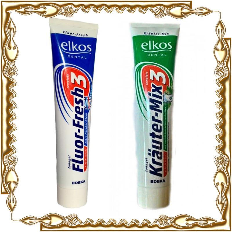 Зубная паста Elkos 125 ml