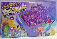 Кинетический песок 1600 г 4 цвета 10 форм KS-02-01 Danko-Toys Украина