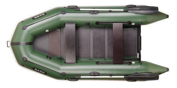 Прогулочная моторная трехместная надувная лодка Bark BT-310 с реечным настилом. Отличное качество. Код: КГ3063