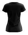 Футболка женская черная Premium, фото 2