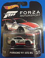 Коллекционная машинка Hot Wheels Porshe 911 GT3 RS