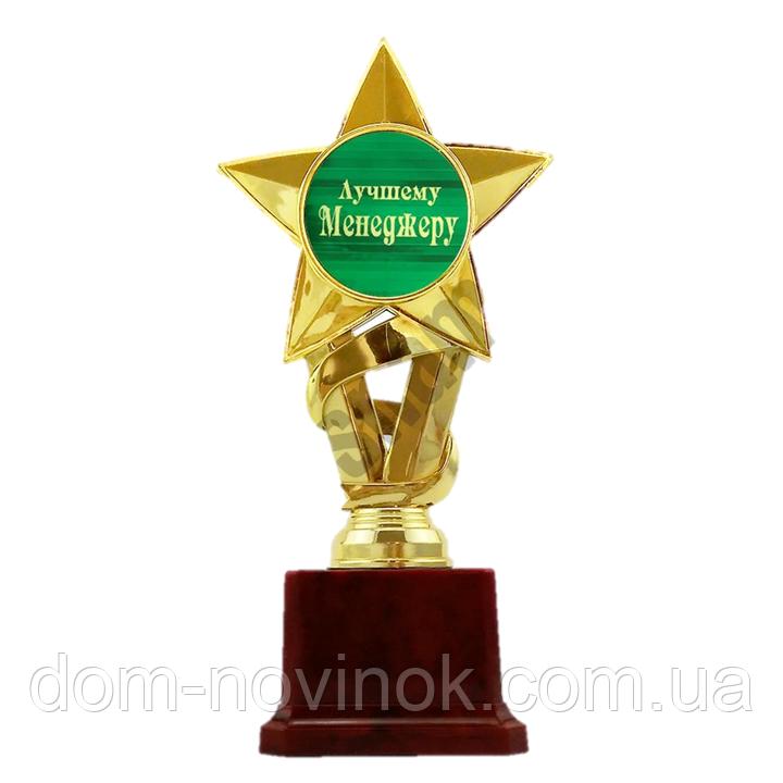 Статуэтка Золотая Звезда Лучшему менеджеру.