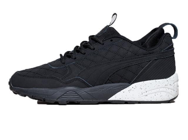 Мужские кроссовки Puma R698 x KITH x Highsnobiety Black White (Реплика ААА+) 40f1a2ae47b