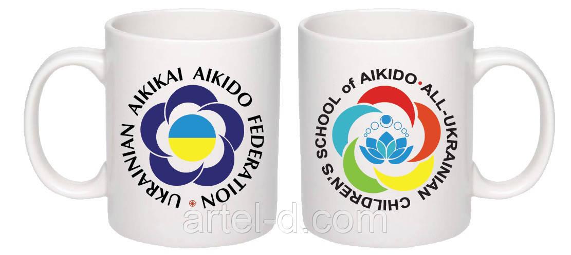 Чашка с логотипом