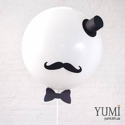 "Гелиевый шар-гигант ""Джентльмен"" для мужчины, фото 2"