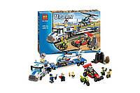 Конструктор Bela Бела 10422 (Lego City 60049) Перевозчик вертолёта 410 деталей