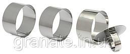Кондитерские кольца с утрамбовкой 10 см, набор - 3шт