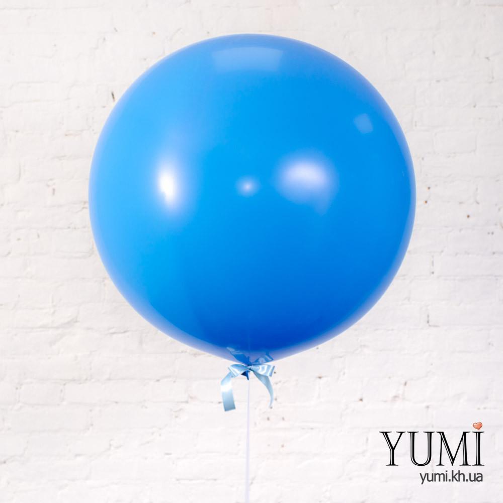 Синий воздушный шар-гигант для мужчины