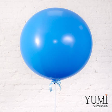 Синий воздушный шар-гигант для мужчины, фото 2