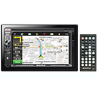 Shuttle SDUN-6950 Black/Multicolor с встроенным GPS и картой Навител